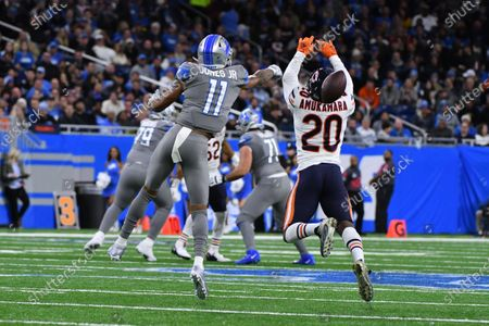 Editorial picture of NFL:  Bears at Lions NOV 28, Detroit, USA - 28 Nov 2019
