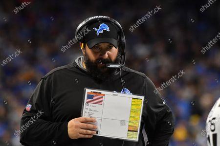 Editorial image of NFL:  Bears at Lions NOV 28, Detroit, USA - 28 Nov 2019