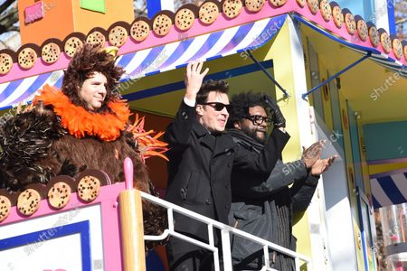 Stock Photo of Jimmy Fallon, Questlove and The Roots