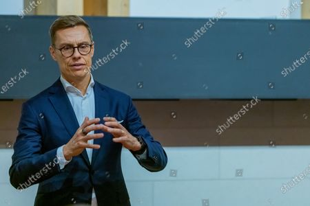 Alexander Stubb, Vice-President of the European Investment Bank (EIB) and former Prime Minister of Finland. Speaks on new European Disorder, hosted by The Oxford Guild.