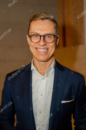 Stock Photo of Alexander Stubb, Vice-President of the European Investment Bank (EIB) and former Prime Minister of Finland. Speaks on new European Disorder, hosted by The Oxford Guild.