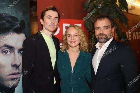 Matthew Beard, Jessica De Gouw and Juergen Maurer