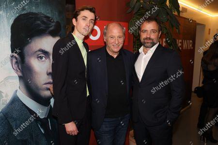 Matthew Beard, Robert Dornhelm and Juergen Maurer