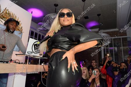 Stock Picture of Stefflon Don
