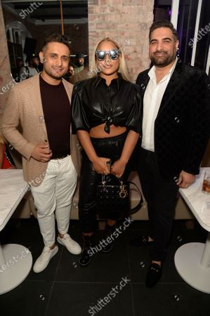 Sunny Rach, Stefflon Don and Rakesh Dasani