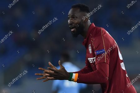 Stock Picture of Lacina Traore of CFR Cluij