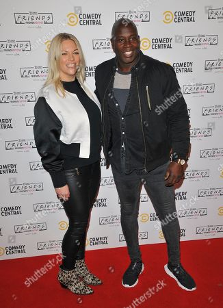 Editorial image of Comedy Central's Friends Festive Exhibition launch, Old Truman Brewery, London, UK - 28 Nov 2019