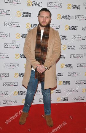Editorial photo of Comedy Central's Friends Festive Exhibition launch, Old Truman Brewery, London, UK - 28 Nov 2019