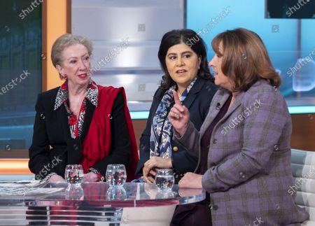 Margaret Beckett, Sayeeda Warsi and Christine Jardine