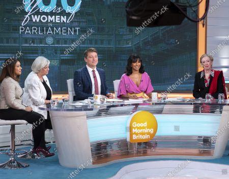Editorial image of 'Good Morning Britain' TV show, London, UK - 29 Nov 2019