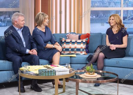 Eamonn Holmes and Ruth Langsford with Samantha Giles
