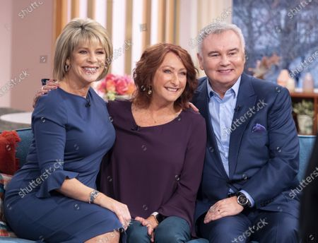 Eamonn Holmes and Ruth Langsford with Lynne McGranger