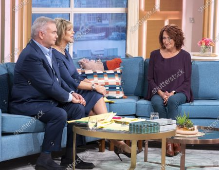 Stock Picture of Eamonn Holmes and Ruth Langsford with Lynne McGranger