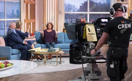 Stock Image of Eamonn Holmes and Ruth Langsford with Lynne McGranger