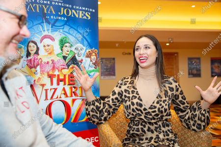 Katya Jones comes to Peterborough to play Glinda in the Pantomime The Wizard of Oz, New Theatre