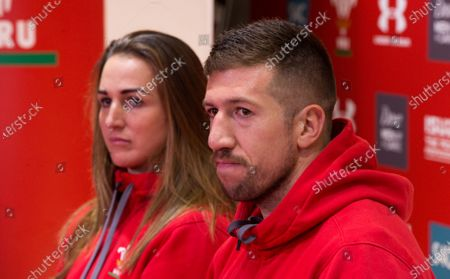 Wales Womens Captain Siwan Lillicrap and Wales' captain Justin Tipuric give joint press conference ahead of their matches against the Barbarians