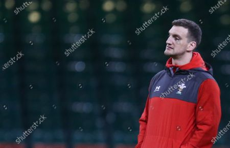 Stock Photo of Wales technical advisor Sam Warburton during Captains Run ahead of their match against the Barbarians