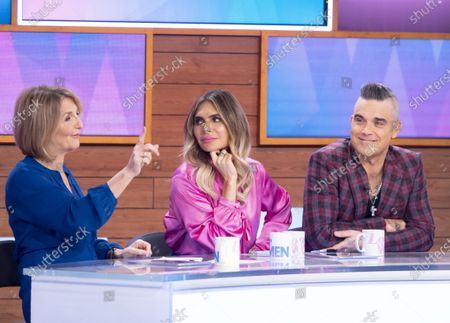 Kaye Adams, Ayda Williams, Robbie Williams