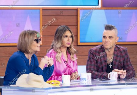 Stock Photo of Kaye Adams, Ayda Williams, Robbie Williams