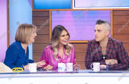 Stock Image of Kaye Adams, Ayda Williams, Robbie Williams