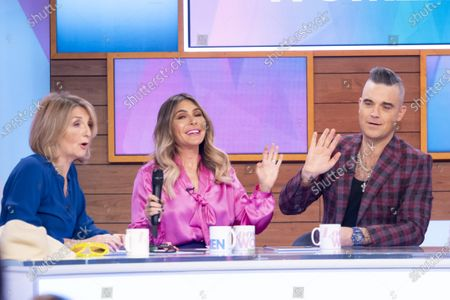 Editorial image of 'Loose Women' TV show, London, UK - 29 Nov 2019