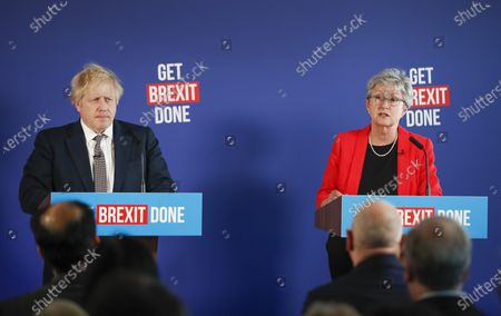Editorial picture of Conservative Party General Election campaigning, London, UK - 29 Nov 2019