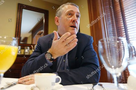 James Bullard, president of the St. Louis Federal Reserve Bank, gestures during an interview in Richmond, Va