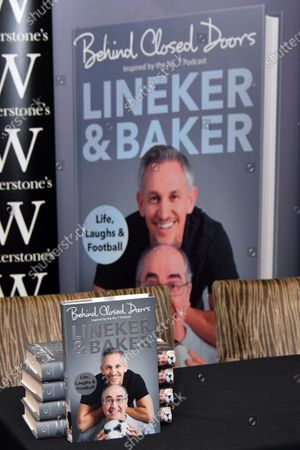Gary Lineker and Danny Baker book signing