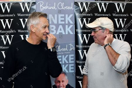 Stock Image of Gary Lineker and Danny Baker