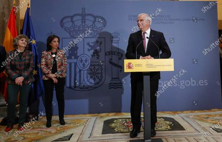 Editorial image of Acting Spanish Foreign Affairs Minister Josep Borrell farewell ceremony, Madrid, Spain - 29 Nov 2019