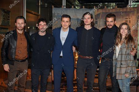 Christian Duguay, Giorgio Marchesi, Francesco Montanari, Luca Bernabei, Daniel Sharman, Raniero Monaco Di Lapio, Aurora Ruffino