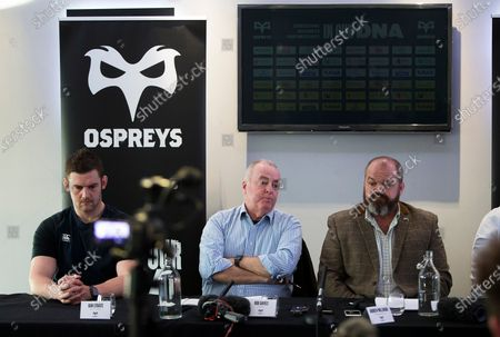 Editorial image of Ospreys Rugby Press Conference - 29 Nov 2019