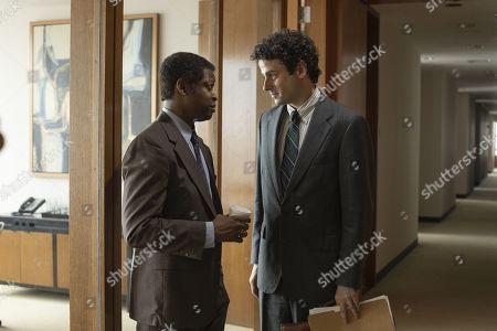 Lawrence Gilliard Jr as Chris Alston and Luke Kirby as Gene Goldman