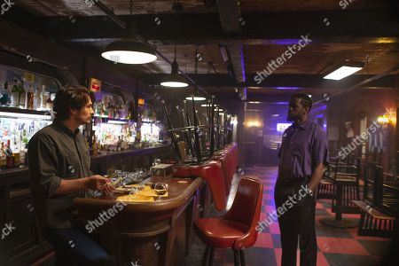 Stock Image of James Franco as Vincent Martino/Frankie Martino and Mustafa Shakir as Big Mike