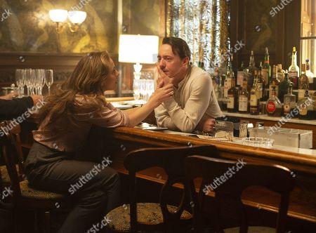 Margarita Levieva as Abigail 'Abby' Parker and Chris Coy as Paul Hendrickson