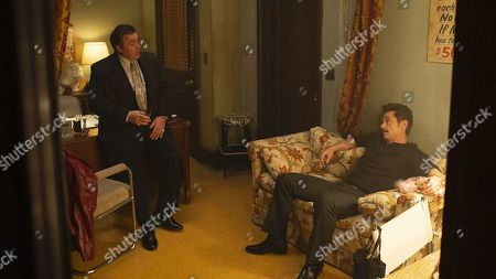 Stock Picture of Michael Rispoli as Rudy Pipilo and James Franco as Vincent Martino/Frankie Martino