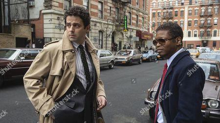 Luke Kirby as Gene Goldman and Lawrence Gilliard Jr as Chris Alston