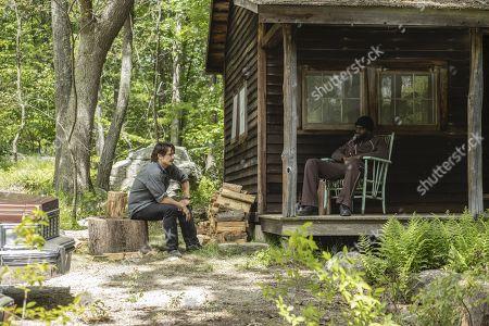 James Franco as Vincent Martino/Frankie Martino and Mustafa Shakir as Big Mike