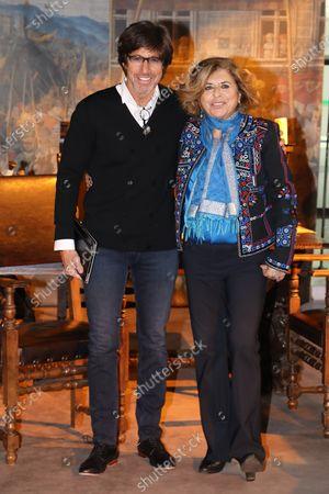 Christian Duguay and Matilde Bernabei