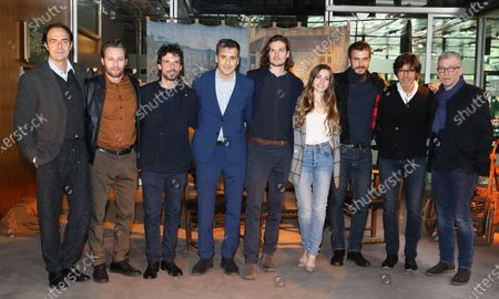 Editorial image of 'Medici' TV Show photocall, Rome, Italy - 29 Nov 2019