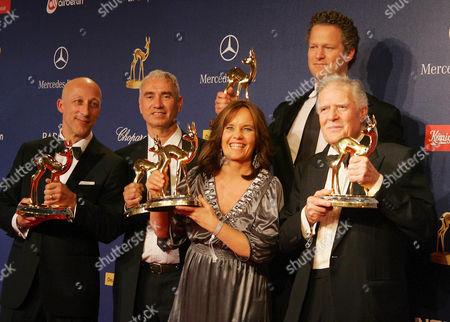 Oliver Hirschbiegel, Roland Emmerich, Caroline Link, Florian Henckel von Donnersmarck, Michael Ballhaus