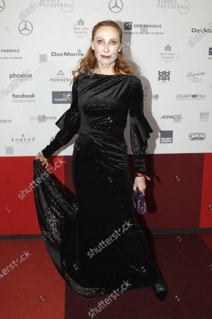 German actress Andrea Sawatzki attends the Federal Press Ball (Bundespresseball) in Berlin, Germany, 29 November 2019. The event takes place for the 68th time.