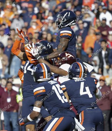 Editorial picture of NCAA Football Virginia Tech vs Virginia, Charlottesville, USA - 29 Nov 2019