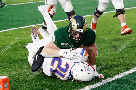 Editorial photo of Boise St Colorado St Football, Fort Collins, USA - 29 Nov 2019