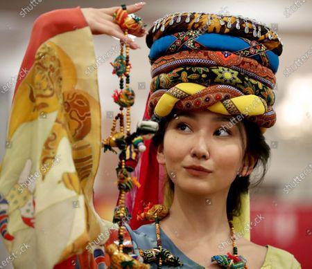 Editorial image of Burana Fashion Week 2019 in Bishkek, Kyrgyzstan - 29 Nov 2019