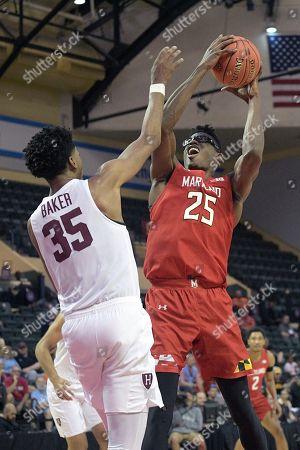 Editorial photo of Maryland Harvard Basketball, Lake Buena Vista, USA - 29 Nov 2019