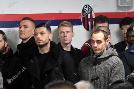 Editorial image of Bologna press conference, Football, Serie A, Nicolo Galli Sport Center, Bologna, Italy - 29 Nov 2019
