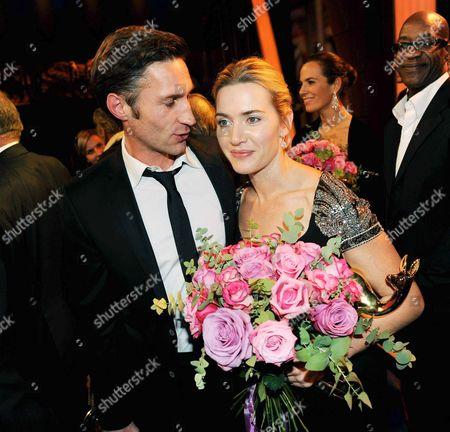 Benjamin Sadler and Kate Winslet
