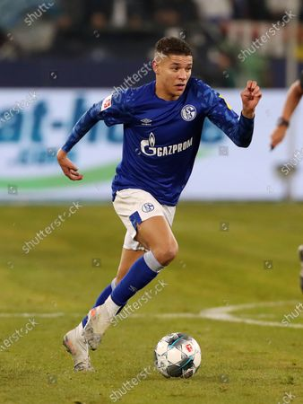 Stock Picture of Amine Harit       / Sport / Football / DFL Bundesliga  /  2019/2020 / 29.11.2019 / FC Schalke 04 vs. 1.FC Union Berlin FCU / DFL regulations prohibit any use of photographs as image sequences and/or quasi-video. /