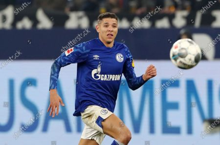 Amine Harit       / Sport / Football / DFL Bundesliga  /  2019/2020 / 29.11.2019 / FC Schalke 04 vs. 1.FC Union Berlin FCU / DFL regulations prohibit any use of photographs as image sequences and/or quasi-video. /